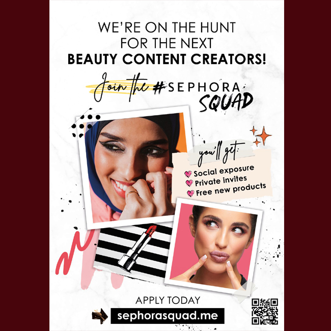 Sephora: Are You Ready to Join the #SephoraSquad?    #SEPHORASQUAD #شلة_سيفورا #Sephora #Lashes #LashDay #Falsies #Mascara #Beauty #Makeup  #tagsforlikes #instadaily #instamood #instagood #instacool #instafollow #instalove  #webstagram #qatarprnetwork
