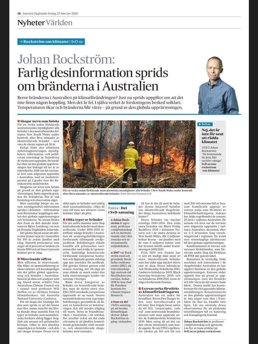 Den stora omställningen till en hållbar och framgångsrik framtid har börjat och måste nu skala upp. Snabbt. Då är det vår skyldighet att inte luras av miss-information. Bränderna i Australien ett exempel.