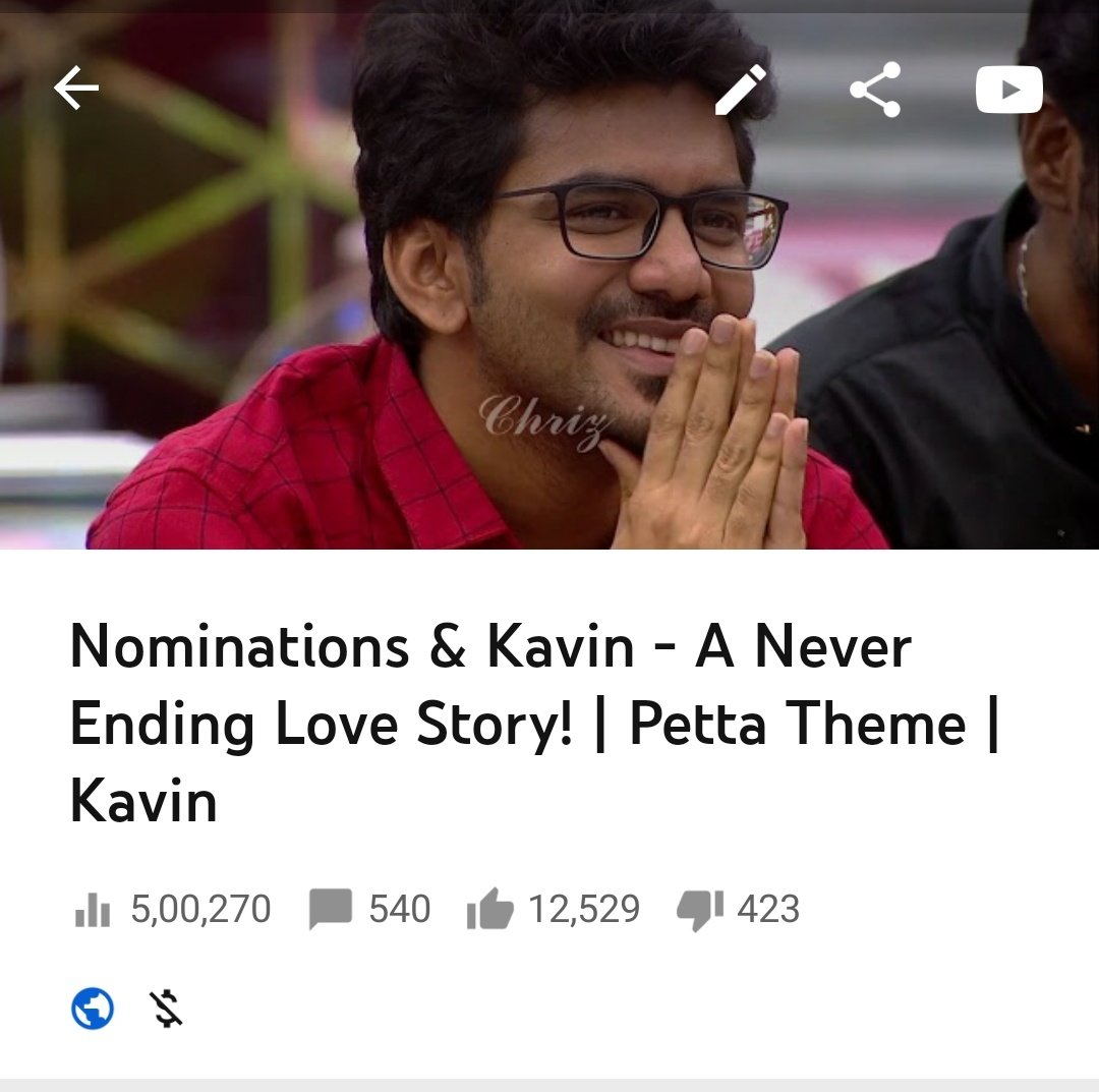 I am proud of you da  nominations and kavin better love story than any story  #WaitingForKavin02<br>http://pic.twitter.com/fVePLZc8mB