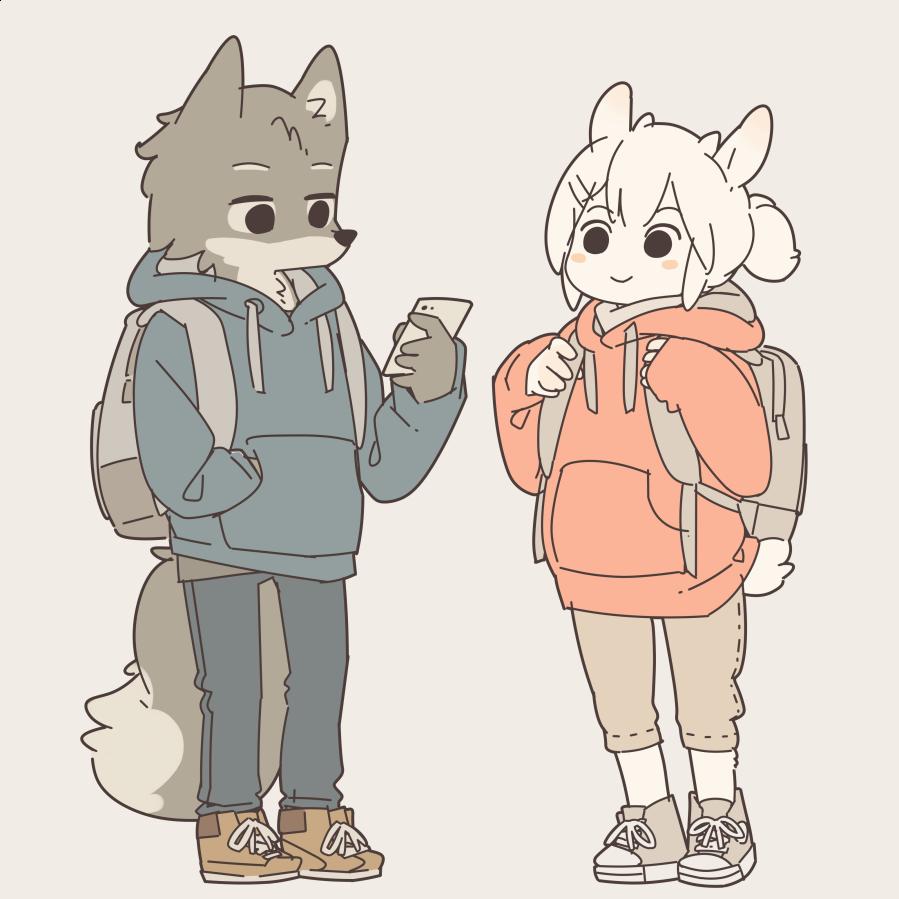 ヤギちゃんとオオカミくん