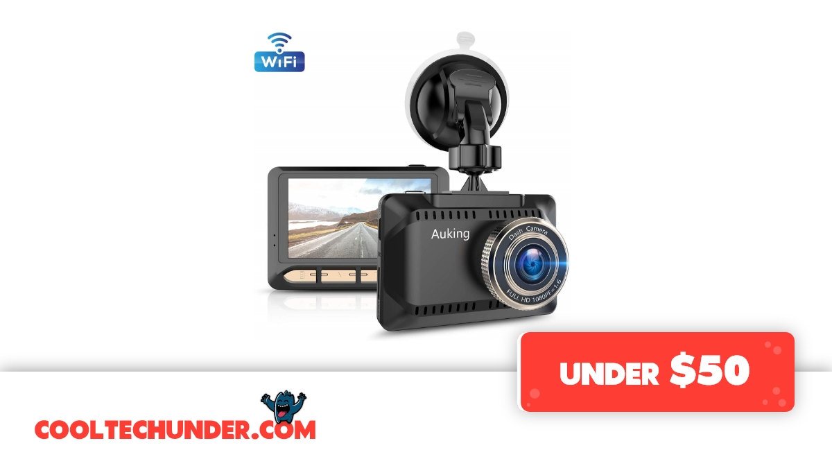 AuKing WiFi 1080P Full HD Dash Camera for Cars #coolTechUnder50  Buy Now: https://amzn.to/2Vb5BI9  More Cool Tech: https://cooltechunder.com  #under50 #AuKing #dashcam #carrecorder #vehiclerecorder #cardvr #looprecording #tech #technology #cooltech pic.twitter.com/LNEY288PcR