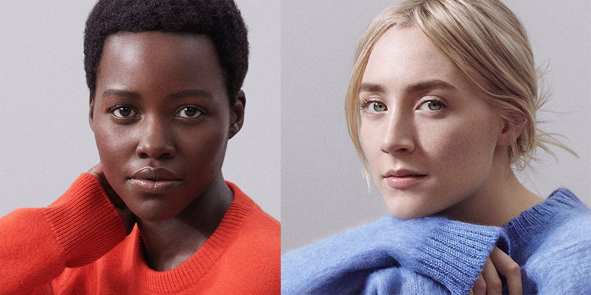 Lupita Nyong'o and Saoirse Ronan Are the (Bare!) New Faces.... #beautyhacks #beauty #style