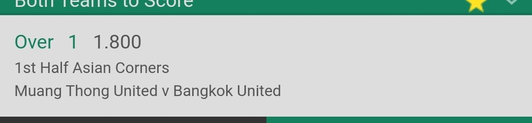 #inplay  Stake 1u at evens <br>http://pic.twitter.com/MxEnmmp4qn