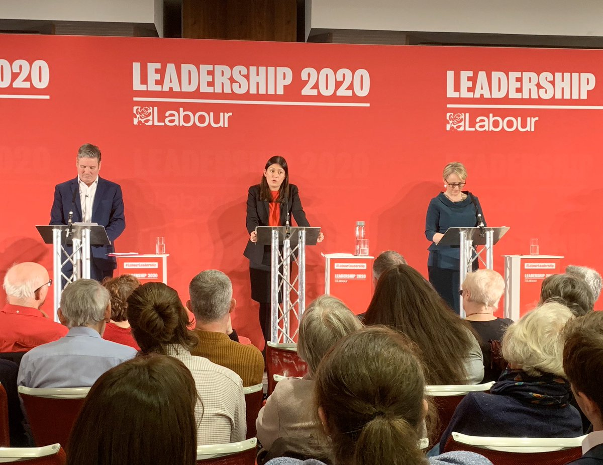 Enjoying the leadership hustings at the Radisson Durham. One thing: I get the accessibility, logistical & security problems, but this is soulless, uncomfortable & uninspiring as a venue. We need to be creative & bold in the way we project our party & movement. Yes, it's hard work