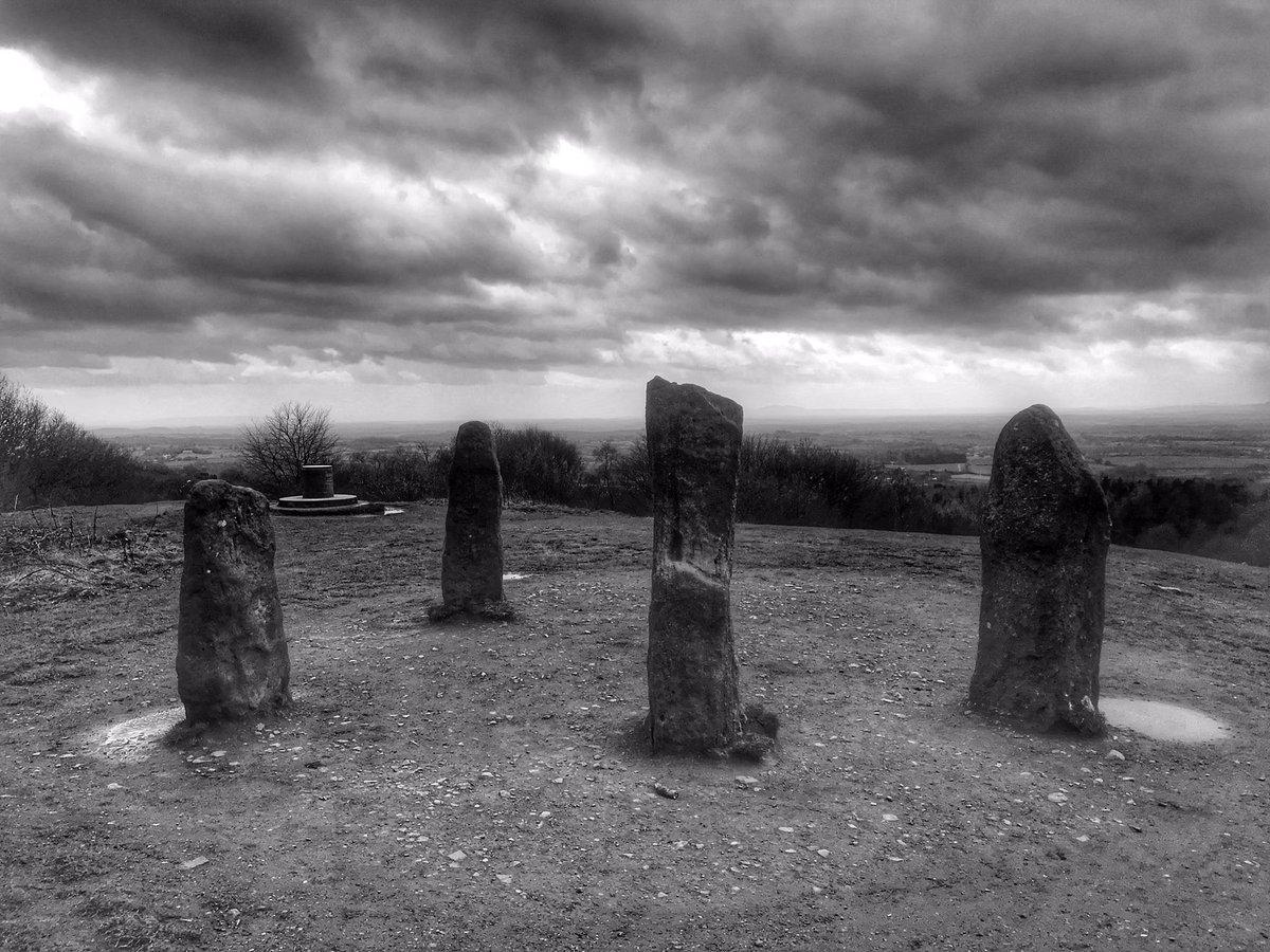 Four stones. Clent Hills. #blackandwhitephoto pic.twitter.com/UyLvIxirOq