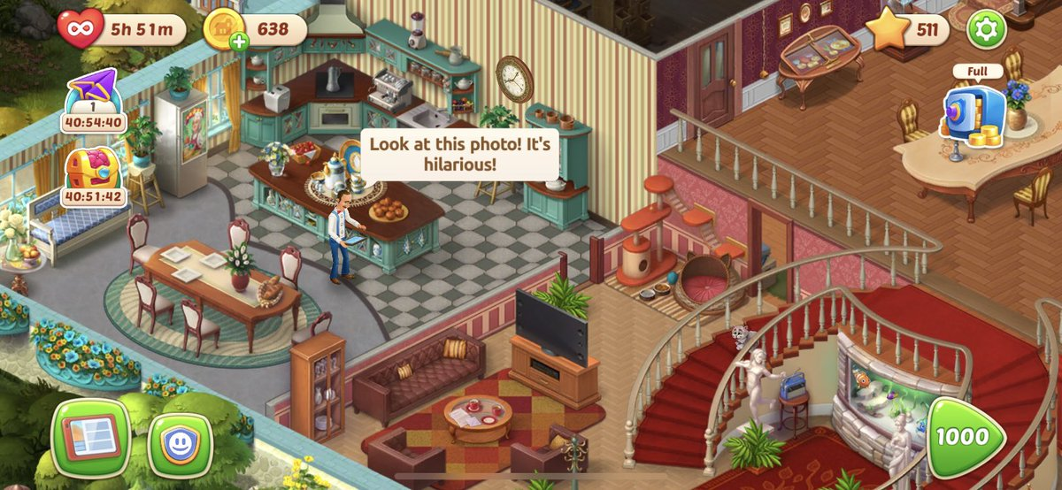 Just hit #level 1000 on @homescapes