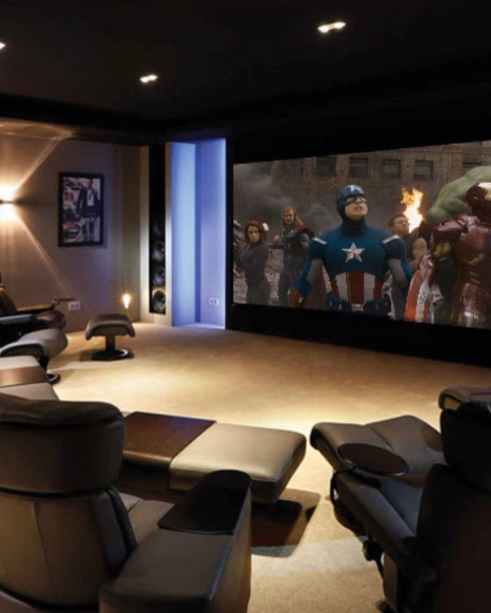 Your very own cinema in your home? The only way to watch the best new films in our opinion! Contact us at  for a free consultation on home cinemas and more home automation services now.  #interiordesign #interiors #londoninteriors #homedecor #home