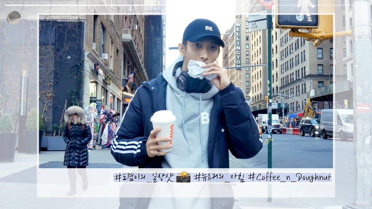 [INSIDE SEVENTEEN] 정한&도겸의 아침 산책 in NY (Jeonghan&DK's morning walk in NY)  ▶️   #정한 #Jeonghan #도겸 #DK #세븐틴 #SEVENTEEN #인사이드_세븐틴 #INSIDE_SVT
