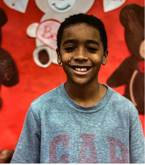 """MISSING: 11 y/o Brandon Foxx. Last seen 2/22/20 at 10:30 pm in the 1400 block of Iverson St in Oxon Hill. He is 4'8"""" & 66 lbs. Last seen wearing a blue and white winter jacket, blue jeans and a backpack with clothes in it. Please call 301-749-5064 if you see him."""