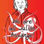 """""""We're here so that unarmed truth has the final word. So that Julian's sentence ends neither with a bang nor with a whimper, but with a majestic, a marvellous full stop."""" @yanisvaroufakis @DiEM_25 #FreeAssangeNOW #FreeAssange #AssangeCase @Behance https://t.co/GqrzqODk59"""