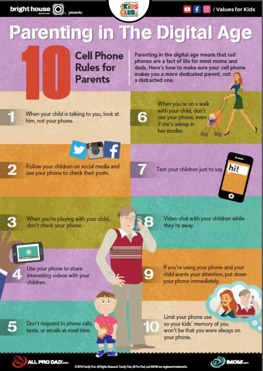 PARENTING IN DIGITAL WORLD - 10 Cell phone rules for parents. . . @imom @allprodad #parenting #motherhood #momlife #kids #parenthood #family #love #parents #baby #parentingtips #children #education #dadlife #mom #parentingislami #toddler #momsofinstagram #christmas