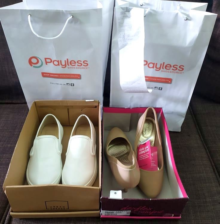 shoe haul from Payless Shoesource https