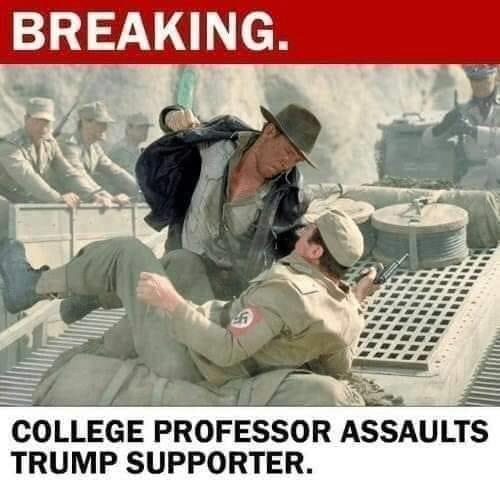 A true scholar's work is never done... #treasonweasel #TrumpForPrison2020