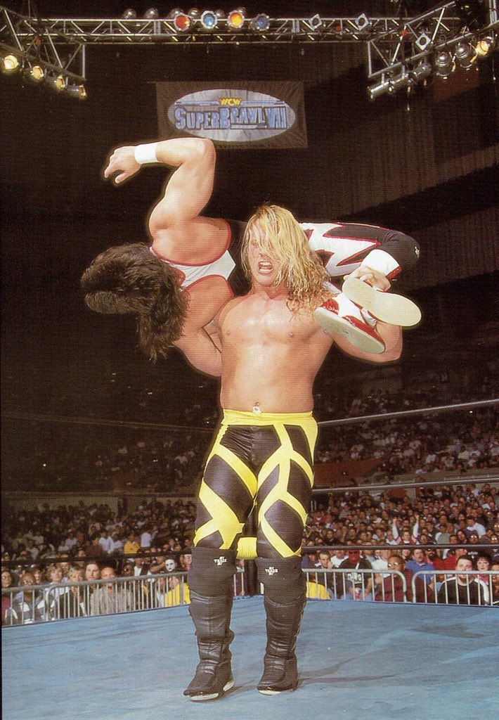 17 Years Ago Today At WCW SuperBrawl 1997 @IAmJericho Faced Off Against The Late Great #EddieGuerrero