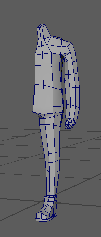 Why model an entire character when you can model half of one and call it a night? #gamedev #indiedev #3dmodeling