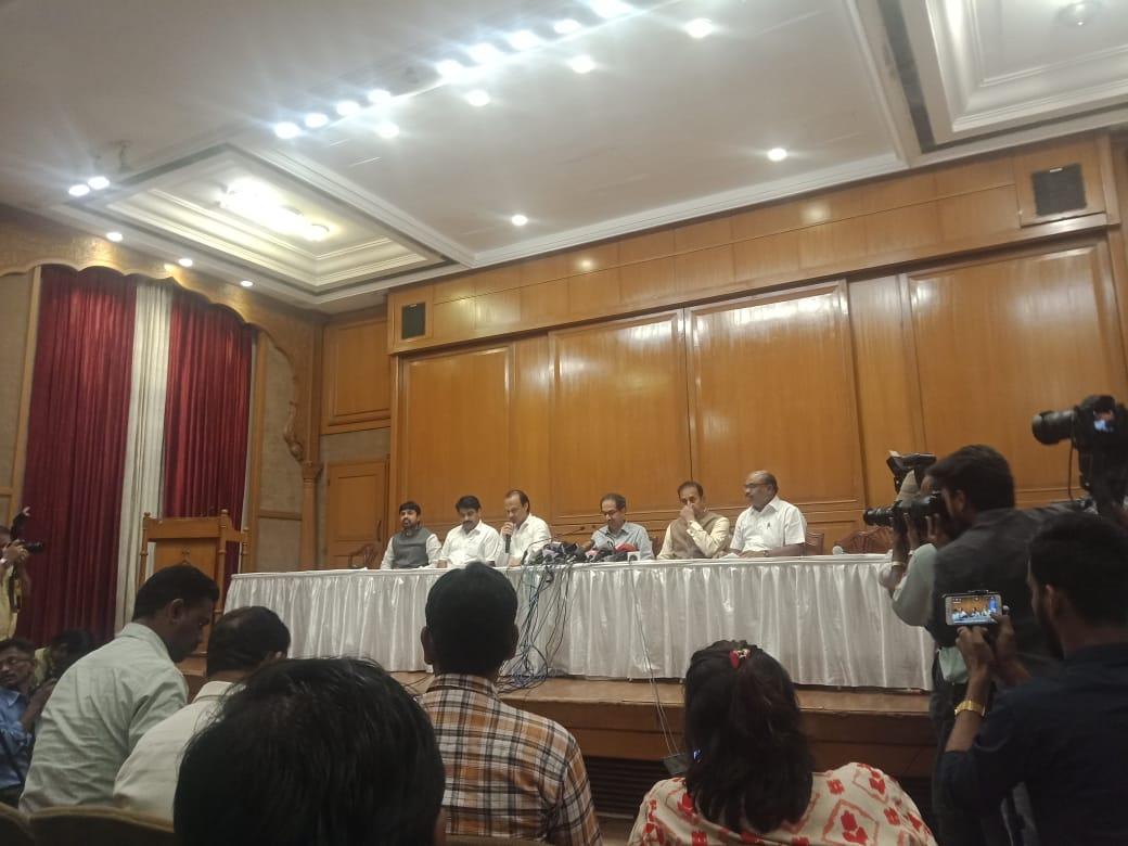 Maharashtra CM Uddhav Thackeray addresses a press conference ahead of the state budget session. #Maharashtra <br>http://pic.twitter.com/SAytEw7USf