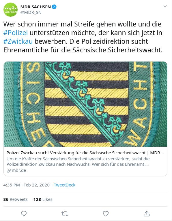 Sächsische Sicherheitswacht