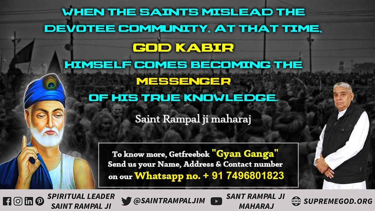 #GodMorningSunday RealGod_Is_InForm he lives in Satlok And Name Of God Is Lord Kabir .Kabir is supreme god Must watch video   <br>http://pic.twitter.com/JgGn13XEFb <br>http://pic.twitter.com/G9iEtK0yof#GodMorningSunday