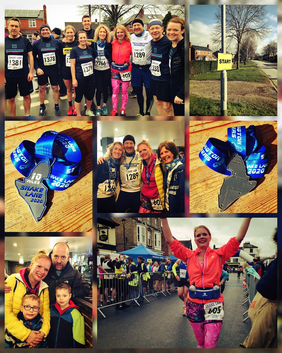 """#SnakeLane10 complete  Brilliant race #PB achieved & extremely well looked after by the @PocklingtonOPs  Favourite spectator comment """"I didn't see you coming!""""  #teacherrunner #runningmakesmehappy #endofhalfterm <br>http://pic.twitter.com/QDF0xX6lLT – à market place, Pocklington"""