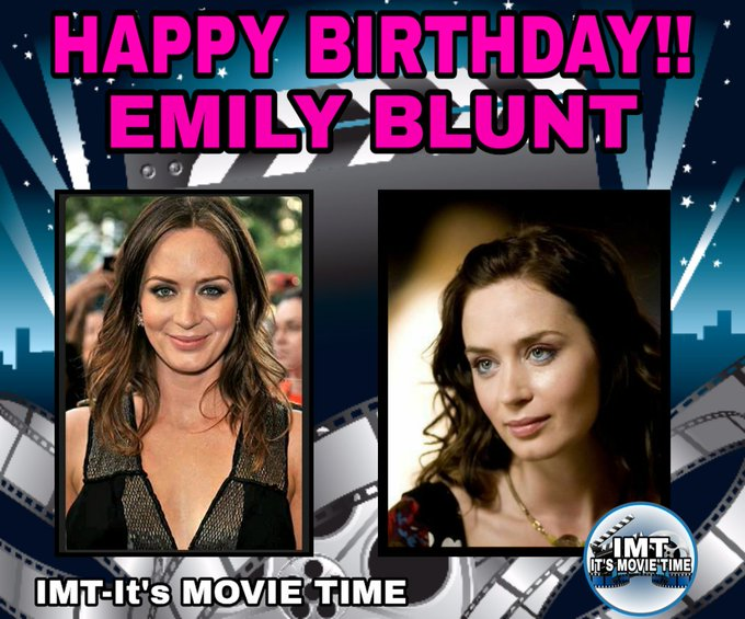Happy Birthday to the Beautiful Emily Blunt! The actress is celebrating 37 years.