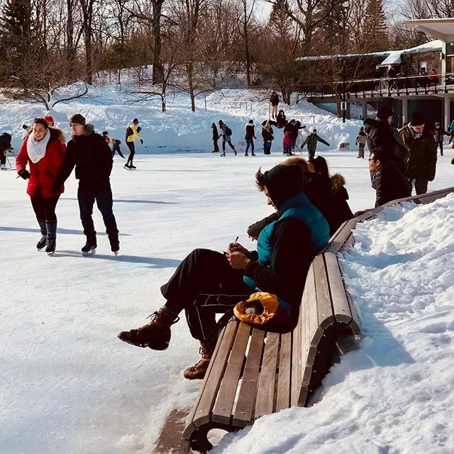 Getting inspiration to write in a notebook on the ice skate rink . . .  #iceskating #winter #peoplephotography #inspiration #bench #skaterink #montreal #parcmontroyal #parcdumontroyal #notebook #tt https://ift.tt/2T6i5y8pic.twitter.com/XZF2V98oLT