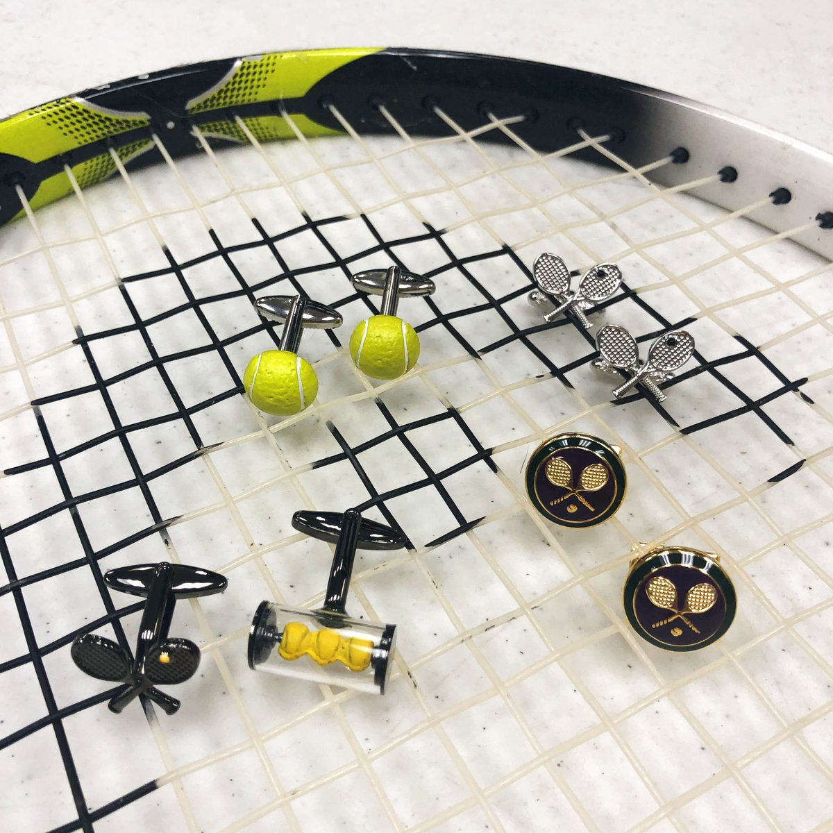 Happy Tennis Day! Which tennis cufflinks are your favorite?  Shop Tennis Cufflinks: http://ow.ly/Ynu150ysQAl   #TennisDay #HappyTennisDay #Tennis #TennisPlayer #TennisRacket #TennisBall #Racket #TennisCourt #TennisLife #TennisPlayers #TennisAddict #Cufflinks #CufflinksDepotpic.twitter.com/kDuW1jp607
