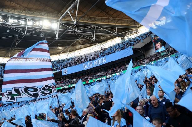 Next Five Fixtures for Manchester City:   Real Madrid ✈️ Aston Villa - League Cup - FINAL  🏠 Sheffield Wednesday - FAC ✈️ Man United ✈️ Burnley 🏠  🔵 #ManCity