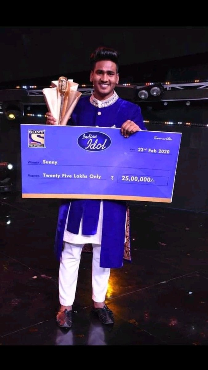 Image result for indian idol season 11 winner