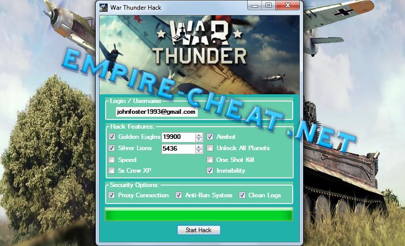 cheats war thunder