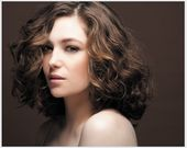 Trendy #HairStyle : #permanente #cheveux mi-longs #hair #coupe - -