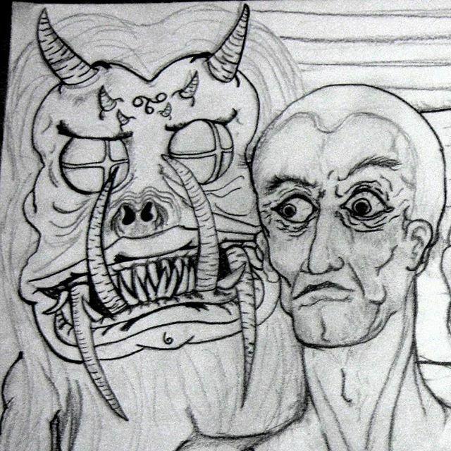 Encontro do ponto.  #arte #artwork #desenho #drawing #freehanddrawing #desenhoamão  #art #rabiscos #freedom #pencildrawing #draw #dibujo #sonho #dream #demon #freeyourself #sketch #alucinação #ink #surrealism #illustration #rabiscos  #acidart #paint #ilustração #instaart #es…pic.twitter.com/lLX8e6Hs5A