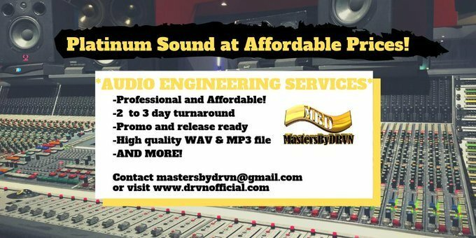 ~NEED AN AUDIO ENGINEER?~ -Professional & Affordable! -2 to 3 day turn around -Promo & Release ready -High Quality WAV & MP3 file -And more! Contact MastersByDRVN today!  http://www. drvnofficial.com     #AudioEngineer #MixAndMastering #MusicProducer #MastersByDRVN<br>http://pic.twitter.com/76ikZODWuw