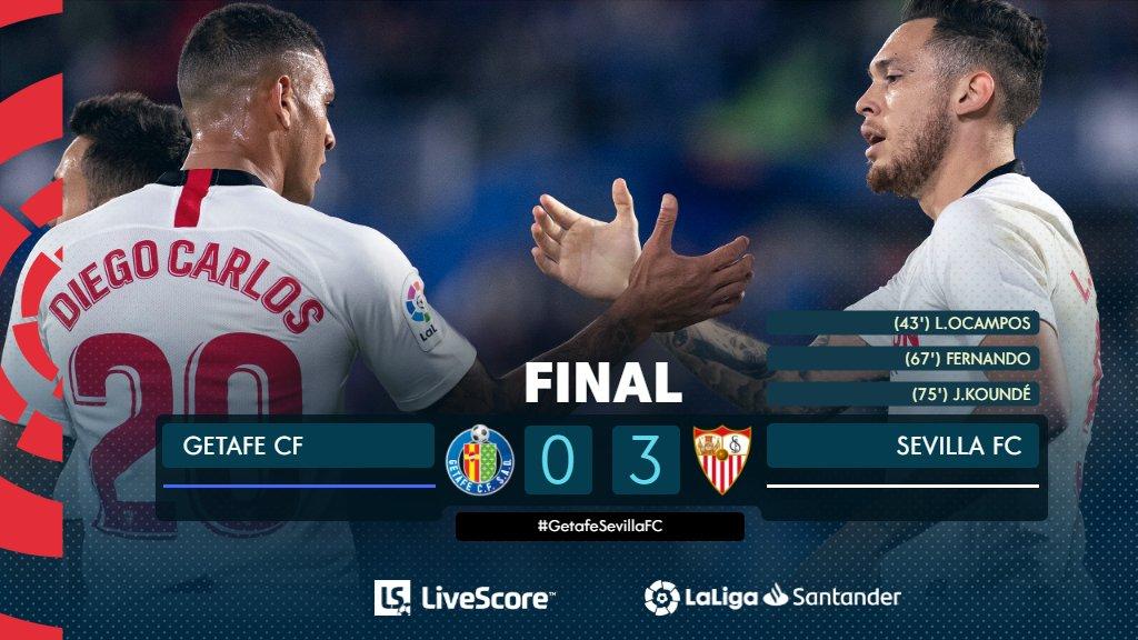 Getafe-FC Séville