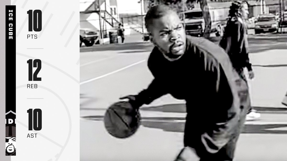 """Get me on the court and I'm trouble. Last week f----- around and got a triple-double"" 🏀  @IceCube's single ""It Was a Good Day"" turns 27 today."