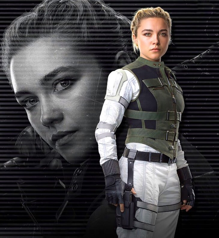 New promotional shot of Florence Pugh as Yelena Belova in #BlackWidow