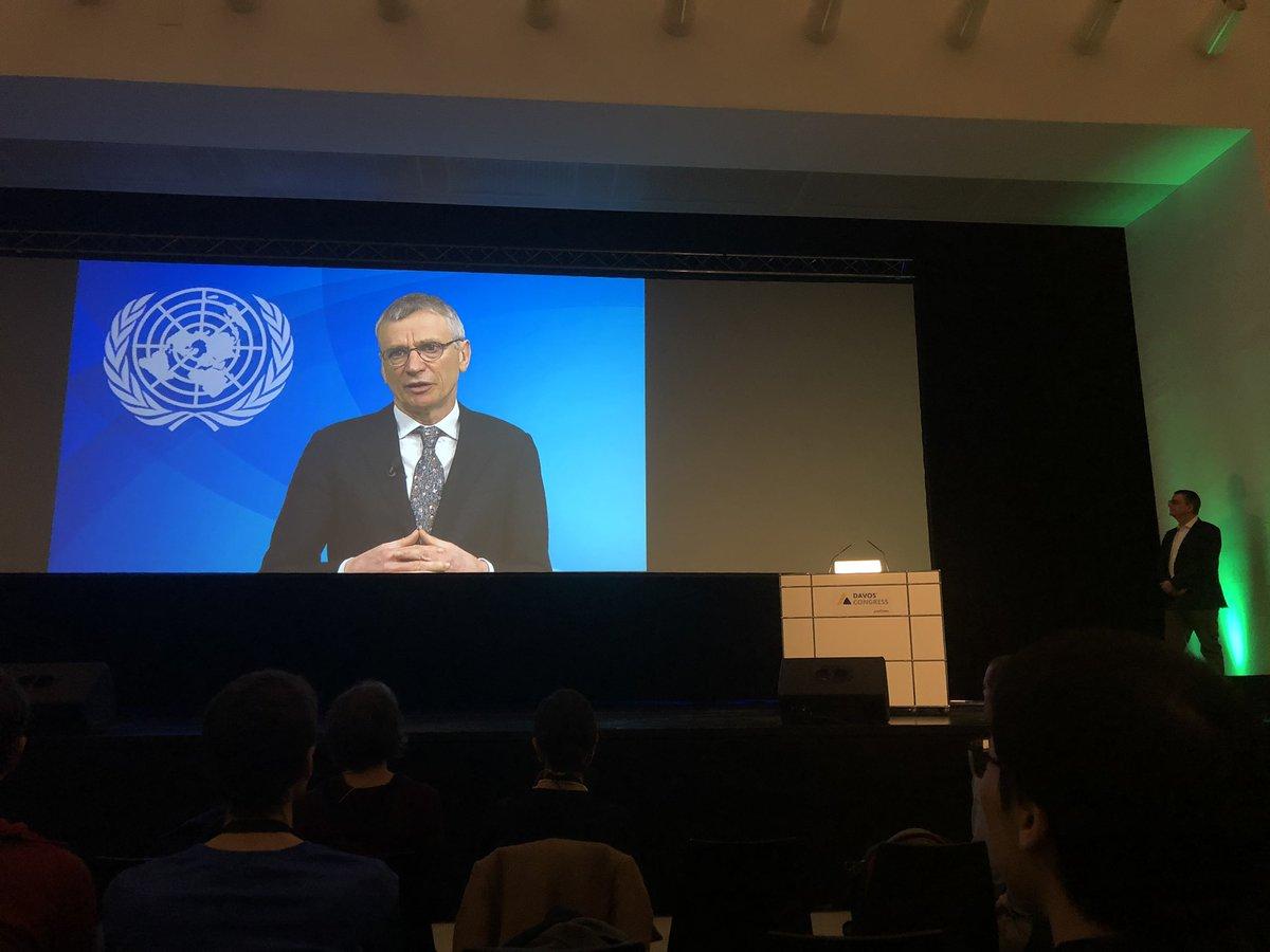 Opening of the World Biodiversity Forum @WorldBioForum in Davos with an adress of the @UNBiodiversity David Cooper