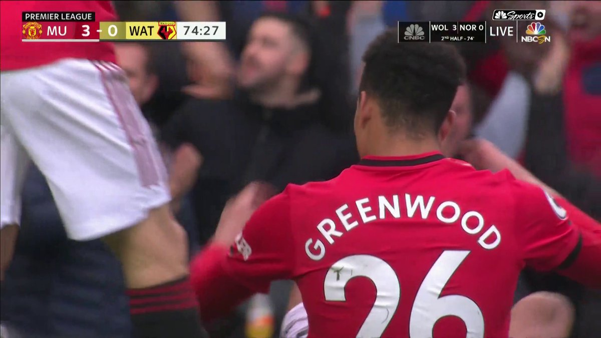 Mason. Greenwood. 18 (via @NBCSportsSoccer)