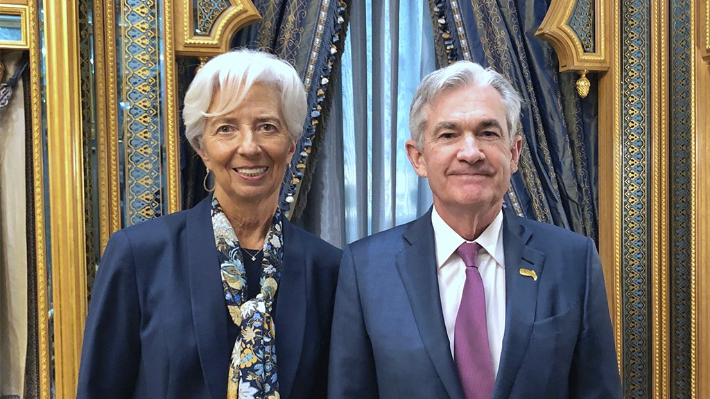 "Christine Lagarde on Twitter: ""A pleasure to see @federalreserve ..."