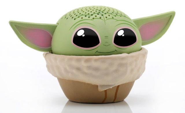 Disney's avalanche of Baby Yoda merch includes an adorable mini Bluetooth speaker