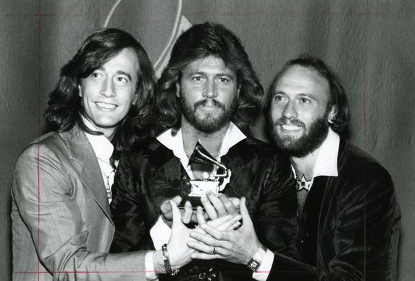 "1978 ""Best Pop Performance"" Grammy won by @BeeGeesOfficial for ""How Deep Is Your Love"" @TheGRAMMYs #OnThisDay @GibbBarry @MTV @RecordingAcadpic.twitter.com/VuzxAdRxxp"
