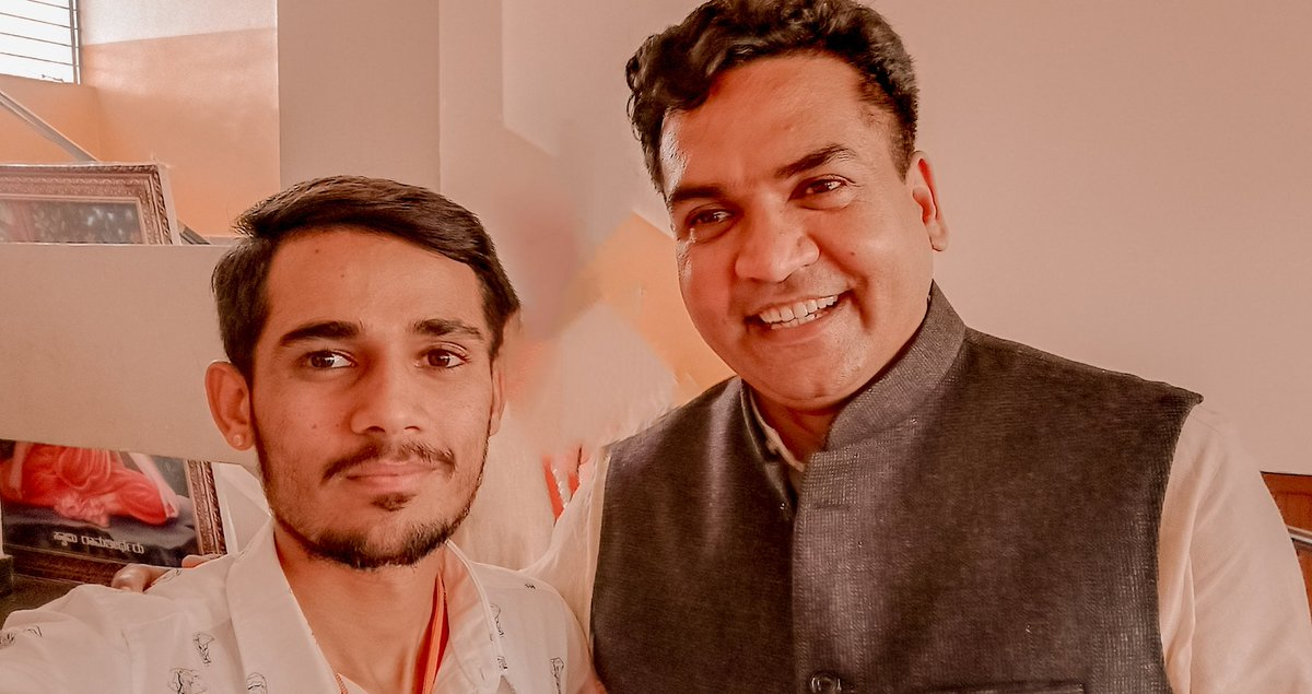 मैं हूं @KapilMishra_IND भैया के साथ और आप ??#ISupportKapilMishraHe is only one standing for Delhi, for every Indian alone.We are proud of you @KapilMishra_IND ji 🙏भारत माता की जय 🇮🇳Copy And Paste Guys #IAmWithKapilMishra #NamasteTrump #TrumpIndiaVisit 💪🚩🇮🇳❤✌