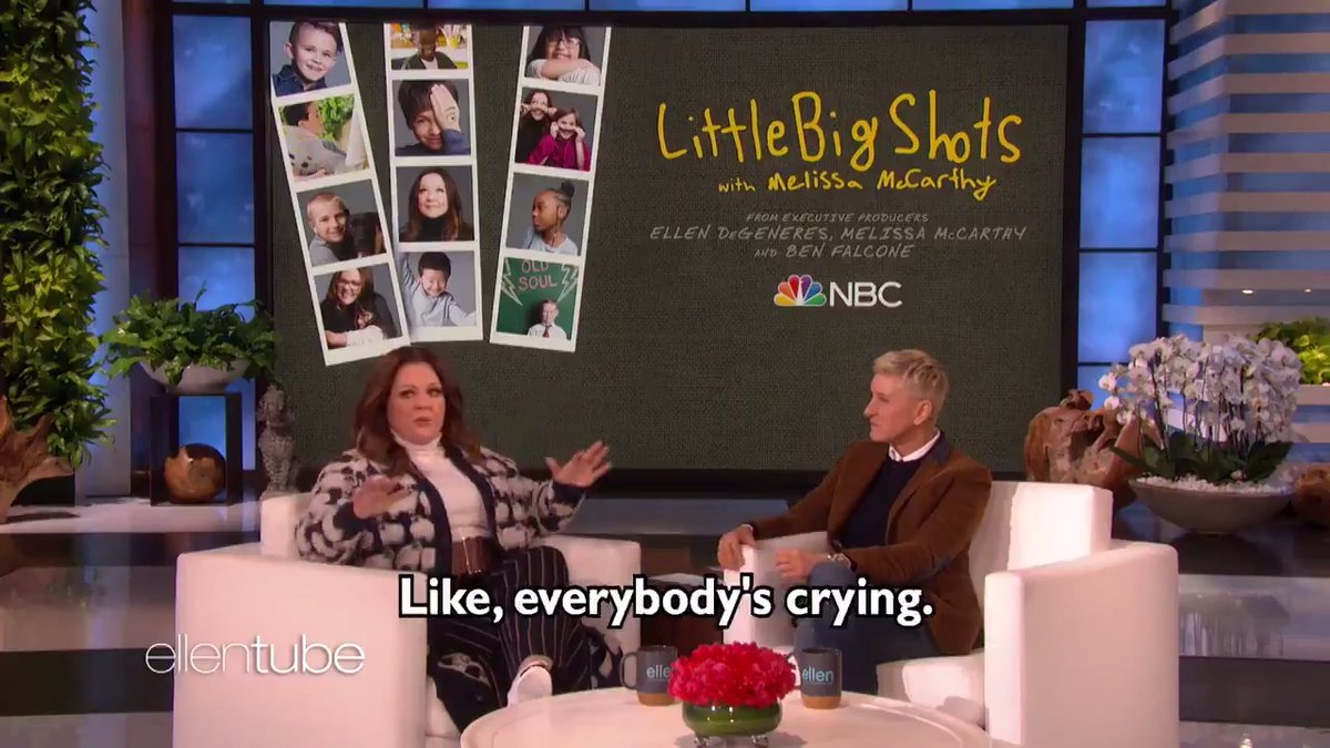 #LittleBigShots  premieres tomorrow! Don't miss @MelissaMcCarthy's  first time hosting!