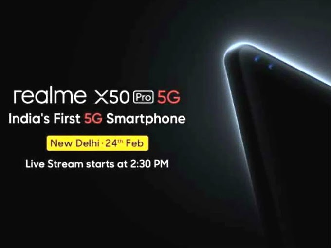 सोमवार को लॉन्च होगा दो पंच होल सेल्फी कैमरे वाला रियलमी X50 प्रो, कंपनी का दावा- ये भारत का पहला 5G स https://ift.tt/32hwnjs #LatestTechNews @SupportUtechpic.twitter.com/DaoB7hlkWp