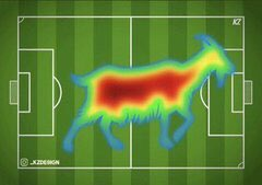 RT @ThereseUTD: Bruno Fernandes' heat map vs Watford: https://t.co/mrYimPmIbH