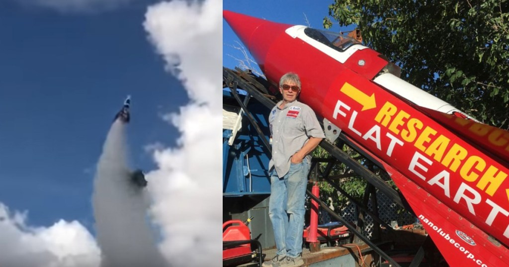 US daredevil trying to prove Earth is flat killed in homemade rocket https://blackculturenews.com/2020/02/us-daredevil-trying-to-prove-earth-is-flat-killed-in-homemade-rocket …pic.twitter.com/5xQGMu74Of