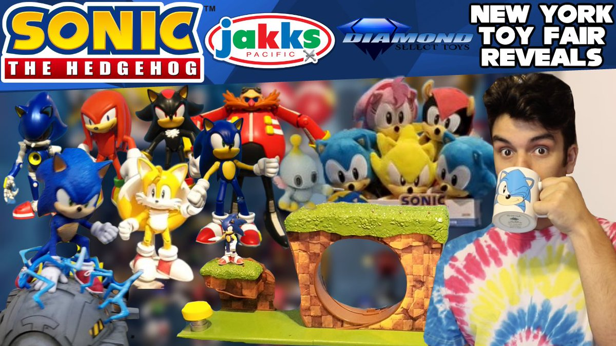 Speedsupersonic On Twitter Sonic The Hedgehog Jakks Pacific Diamond Select Toys Merch Revealed At New York Toy Fair 2020 Is Up On This Sonic Filled Weekend Plenty Of Stuff To Go Over So
