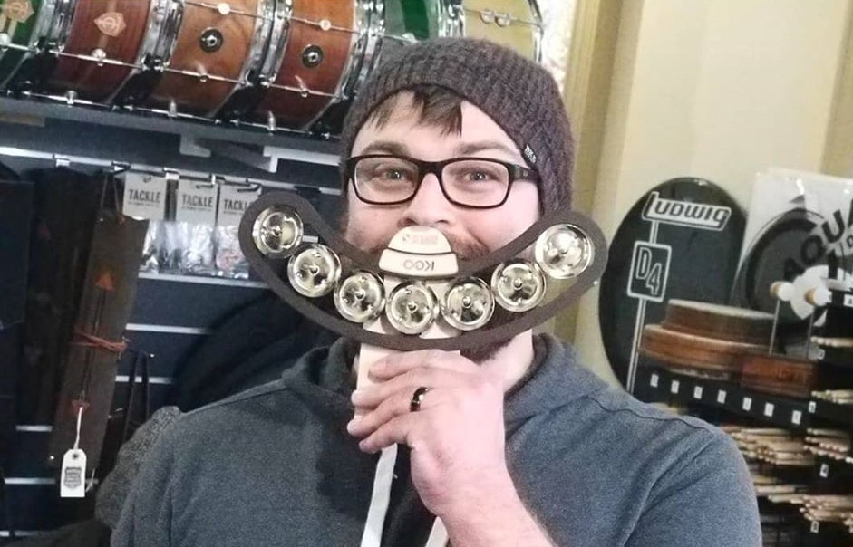 Snare Tambourine smiles from our friends at @TwinCitiesDrums  #drumaccessories #percussion #tambourine #drumfam pic.twitter.com/nmLLv8XECj