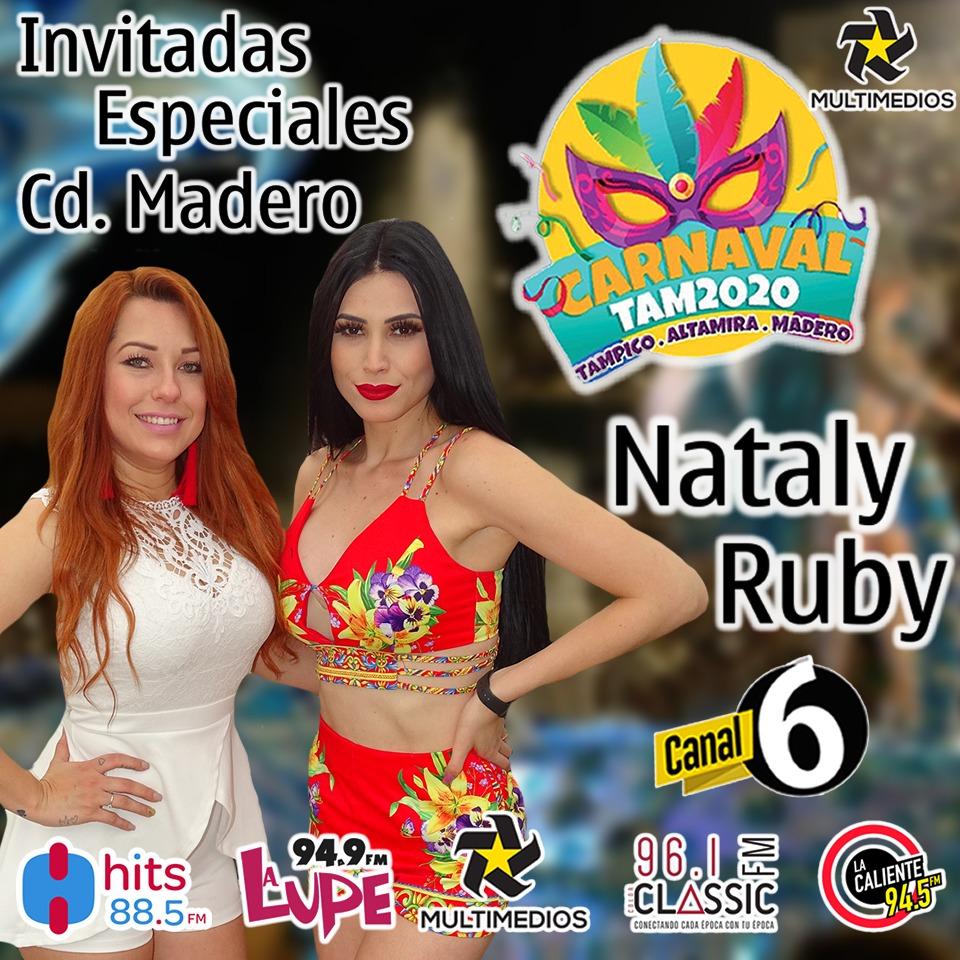 @KykeSylva Hoy en el Cierre de #CarnavalTam2020 en Cd. Madero la presencia de nuestrad compañeras de Es Show @NATALY_GMZ y @Ruby_Gonzalezz ahí nos vemos!!#Kykesilva #Multimedios #television #radio #Tampico #telediario #TrasLosFamosos #Hitsfm885