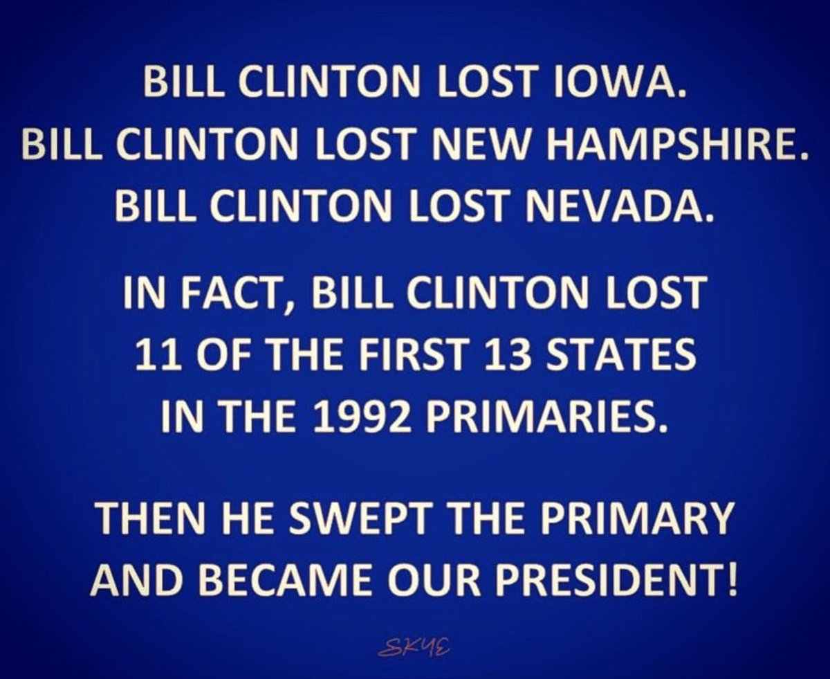 #SundayMorning #SundayMotivation #SundayThoughts #AMJoy #thisweek U know what,opinions are just that-opinions/ #FireChrisMatthews 4what,A comparison abt. Sanders👋🏾, BTW facts ppl should know👈🏾Bill Clinton Lost Iowa N. Hampshire &NV. &Still Became #POTUS🤷🏾♀️