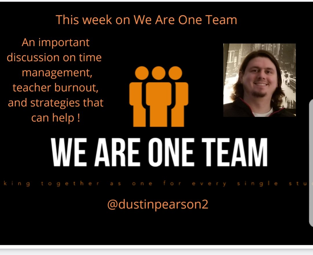 This week on We Are One Team!! A very important topic all teachers can relate to! #weareoneteam